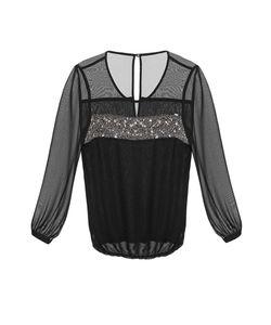 Gaudi | Блуза Из Искусственного Шелка С Бисером И Кристаллами Be-183700