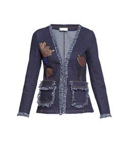 Cristinaeffe   Cristina Effe Джинсовая Куртка С Пайетками 186270