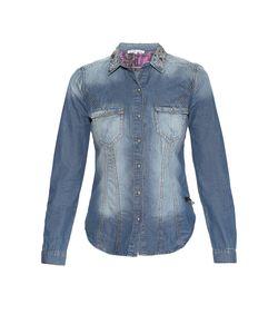 Gaudi | Рубашка Из Хлопка В Кристаллах Be-183661