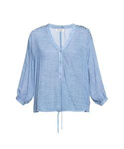 Devore | Блуза Свободного Кроя С Кружевными Вставками На Плечах 190242