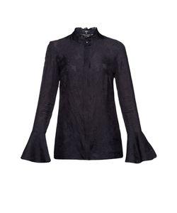 Pallari | Шелковая Блуза С Кружевными Вставками Pa-191441