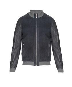Gian Carlo Rossi | Замшевая Куртка С Кожаной Отделкой 161206
