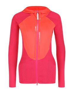 Adidas By Stella  Mccartney | Спортивная Облегающая Куртка С Капюшоном