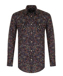 Dsquared2 | Хлопковая Рубашка С Контрастным Принтом