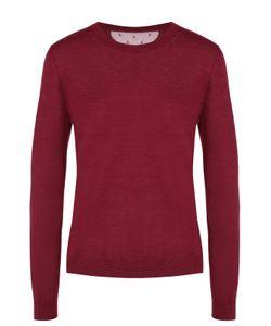 Red Valentino | Кашемировый Пуловер С Круглым Вырезом