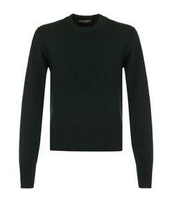 Dolce & Gabbana | Шерстяной Однотонный Джемпер