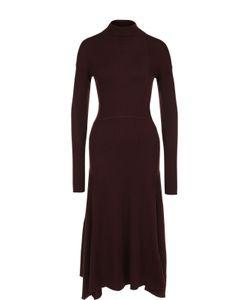 Theory | Шерстяное Приталенное Платье-Миди
