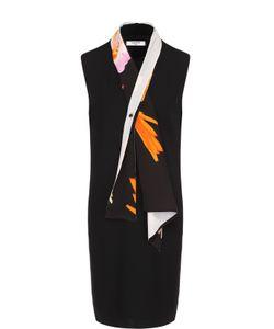 Lanvin | Платье Прямого Кроя С Контрастным Воротником