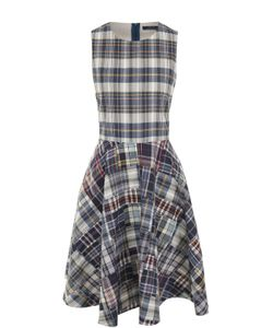 Polo Ralph Lauren | Приталенное Платье-Миди В Клетку