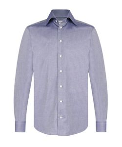 Eton | Хлопковая Рубашка С Итальянским Воротником