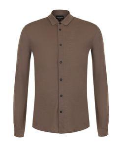 Giorgio Armani | Шерстяная Рубашка С Воротником Кент