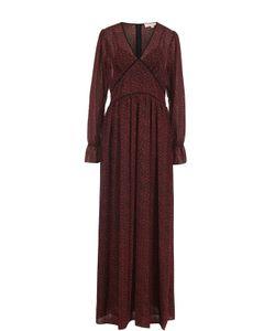 Michael Michael Kors | Приталенное Платье-Макси С V-Образным Вырезом