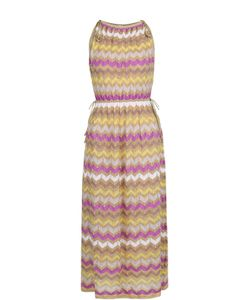 Missoni | Приталенное Платье-Миди Без Рукавов M