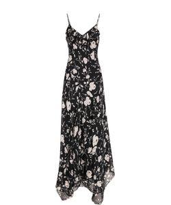 Polo Ralph Lauren | Шелковое Платье-Макси С Цветочным Принтом