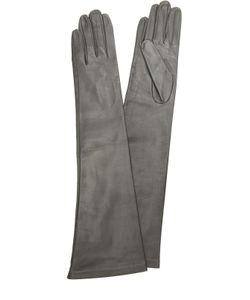 Sermoneta Gloves | Длинные Кожаные Перчатки