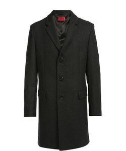 Hugo | Шерстяное Однобортное Пальто