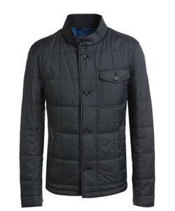 BOSS | Стеганая Куртка С Накладным Нагрудным Карманом