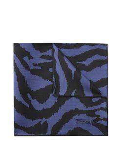 Tom Ford | Шелковый Платок С Анималистичным Принтом