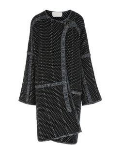 Chloe | Вязаное Пальто Прямого Кроя С Круглым Вырезом Chloé