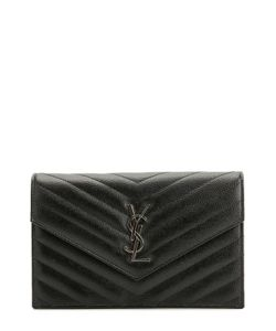 Saint Laurent | Сумка Monogram Envelope Из Стеганой Кожи