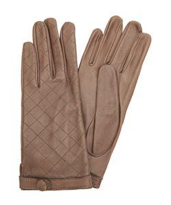 Sermoneta Gloves | Кожаные Перчатки С Прострочкой
