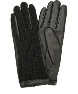 Agnelle | Кожаные Перчатки С Отделкой Из Шерсти