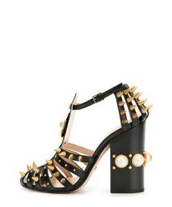 Gucci | Кожаные Босоножки Kendall С Декором