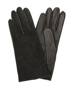 Sermoneta Gloves | Перчатки Из Комбинированной Кожи