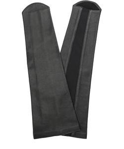 Agnelle | Кожаные Перчатки-Манжеты Без Пальцев