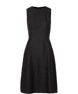 Dolce & Gabbana | Кружевное Приталенное Платье Без Рукавов