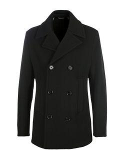 BOSS | Шерстяное Двубортное Пальто