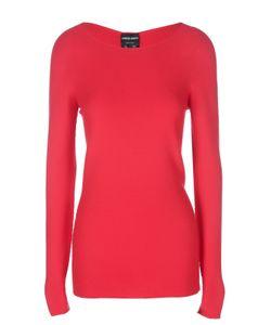 Giorgio Armani | Удлиненный Приталенный Пуловер С Рельефной Отделкой