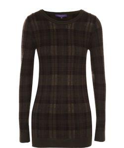 Ralph Lauren | Облегающий Пуловер В Клетку С Круглым Вырезом
