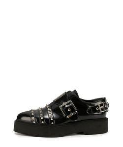 Alexander McQueen | Кожаные Ботинки С Заклепками