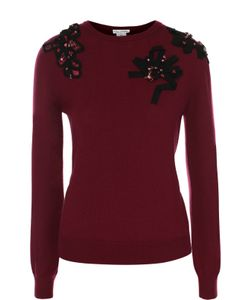Oscar de la Renta | Пуловер С Круглым Вырезом И Декоративной Отделкой