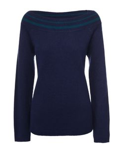 Escada Sport | Шерстяной Пуловер Свободного Кроя С Открытыми Плечами