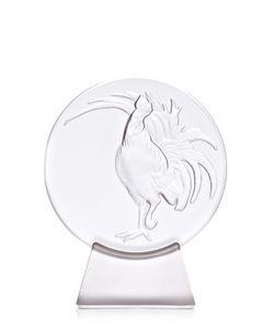 Lalique | Пресс-Папье Петух На Подставке
