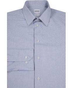 Armani Collezioni | Хлопковая Рубашка В Мелкую Клетку