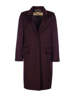 Burberry | Кашемировое Пальто Прямого Кроя С Карманами