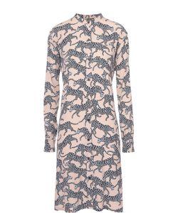 Dries Van Noten | Платье Прямого Кроя Со Звериным Принтом