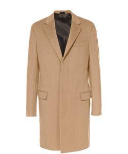 Lanvin | Шерстяное Однобортное Пальто С Потайными Пуговицами