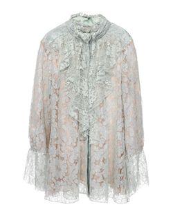 Lanvin | Кружевная Блуза Свободного Кроя С Рюшами