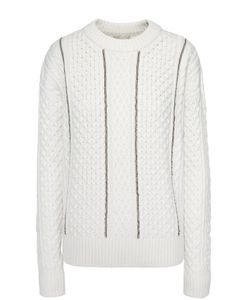 Michael Michael Kors | Пуловер Фактурной Вязки С Металлизированной Отделкой