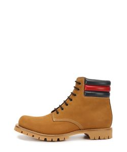 Gucci   Ботинки Marland Из Нубука С Кожаными Вставками