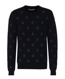 Dolce & Gabbana | Кашемировый Джемпер С Круглым Вырезом
