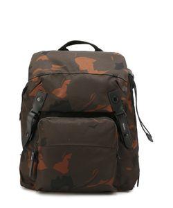 Lanvin | Рюкзак С Камуфляжным Принтом И Отделкой Из Натуральной Кожи