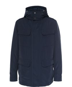 Pal Zileri | Утепленная Куртка На Молнии С Капюшоном