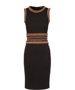 Dsquared2 | Облегающее Платье Без Рукавов С Декоративной Отделкой