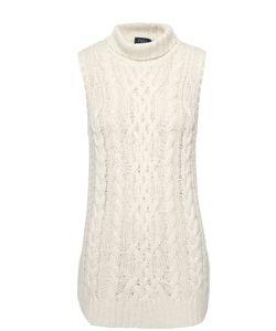 Polo Ralph Lauren | Удлиненный Свитер Фактурной Вязки Без Рукавов