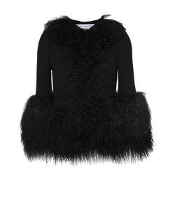 Sonia Rykiel | Укороченная Куртка С Круглым Вырезом И Меховой Отделкой